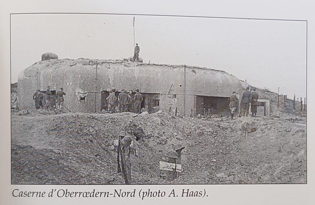 Caserne d'Oberrœdern-Nord (photo A. Haas). Après la guerre