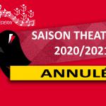Saison théâtrale 2020/2021