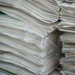 Collecte des vieux papiers et cartons pour les écoles